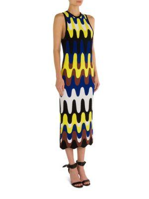 Knit Patterned Dress