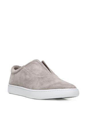 Viktor Suede Slip-On Sneakers