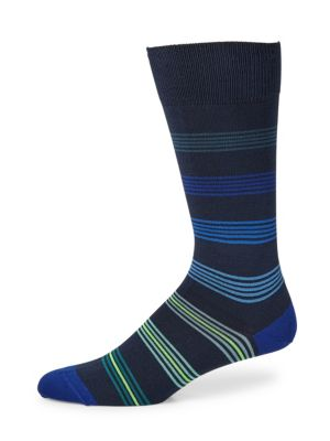 Ladder Stripe Dress Socks