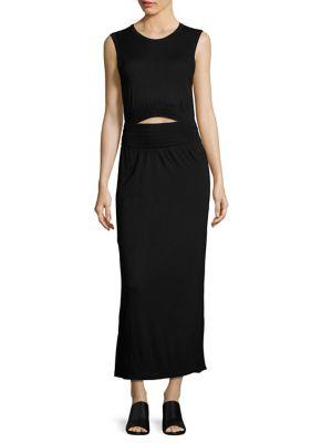 A.L.C. Hudson Smocked Maxi Dress