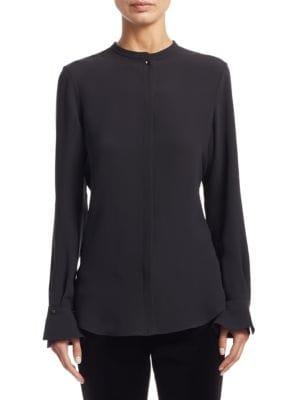 Danielle Silk Shirt by Loro Piana