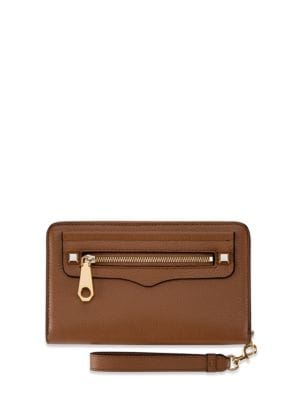 Regan Leather Phone Wristlet