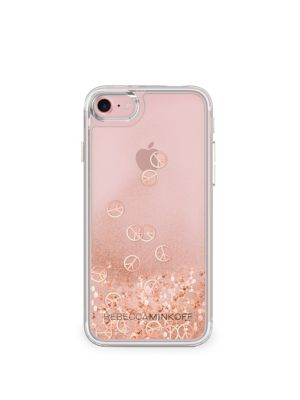 Glitterfall Peace Sign iPhone 7 Case