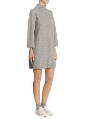 Jill Cashmere Turtleneck Dress