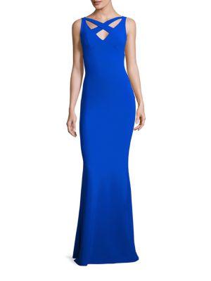 Clori Crisscross Gown