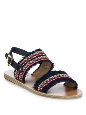 Dinami Raffia Sandals