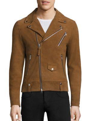 Fenton Suede Moto Jacket