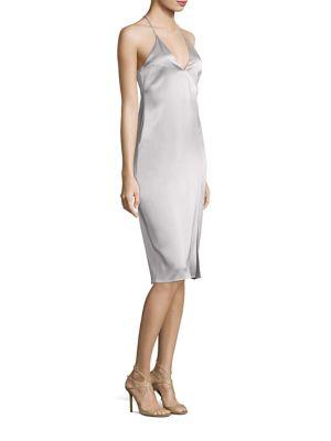 Solid Cami Slip Dress