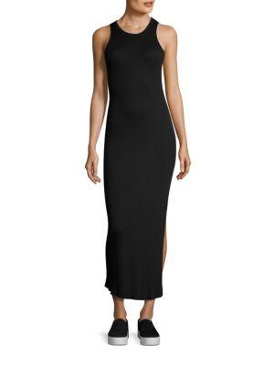 Melbourne Rib-Knit Maxi Dress
