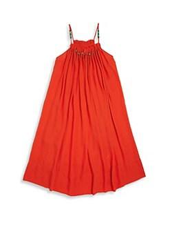 Red dress age 9 10 vine