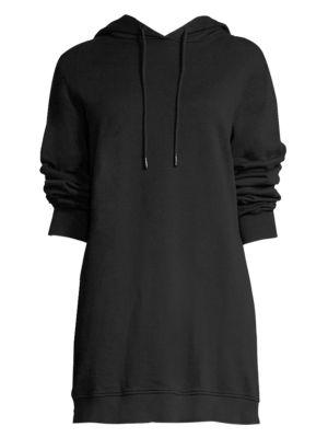 Milan Open-Back Sweatshirt Dress