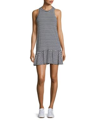 Le Club Striped Dress