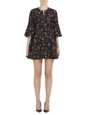 Buy Carven Printed Bell Sleeve Dress online with Australia wide shipping