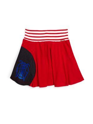 Toddler's, Little Girl's & Girl's Constructivisme Pleated Jersey Skirt