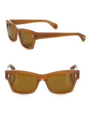The Row For Oliver Peoples 71st Street 51MM Square Cat Eye Sunglasses
