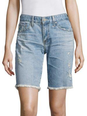 Nikki Skinny Shorts by AG