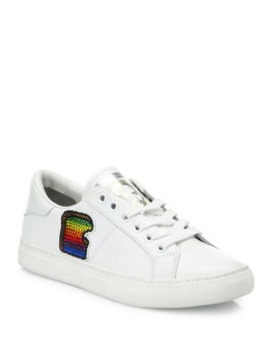 Empire Toast Leather Low-Top Sneakers