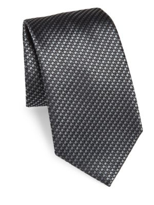Ribbon Weave Silk Tie