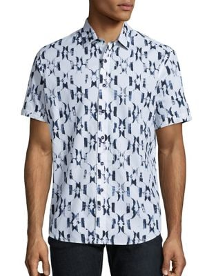 Parsis Printed Short Sleeve Shirt