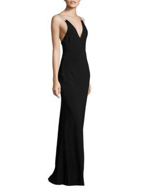 Chantal Chain Strap Gown
