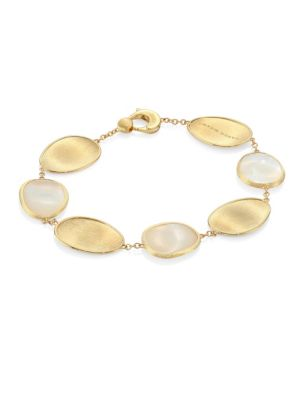 Lunaria Mother-Of-Pearl & 18K Yellow Gold Bracelet