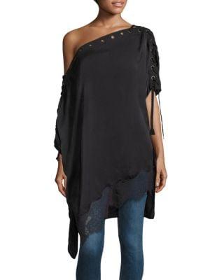 Eyelet Silk Lace Tunic by Faith Connexion