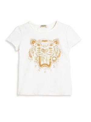 Toddler's & Girl's Jungle Tiger Tee