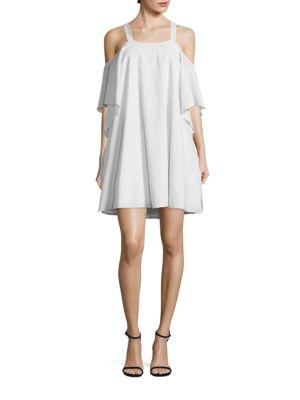 Flowy Cold Shoulder Dress