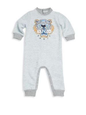 Baby's Marl Tiger Printed Coverall