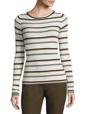 Mirzi Striped Merino Wool Sweater