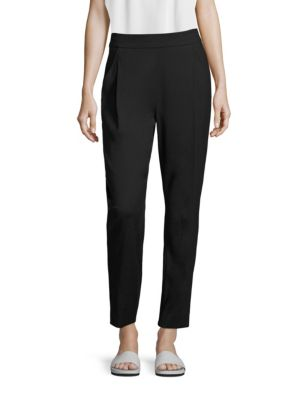 Pleated Track Trousers