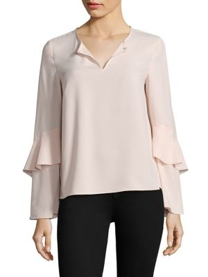Agatha Tiered Sleeve Blouse by Cooper & Ella