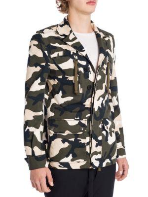 VALENTINO Camouflage Jacket