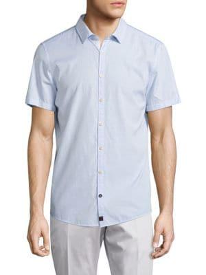 STRELLSON Striped Slim-Fit Button-Down Shirt