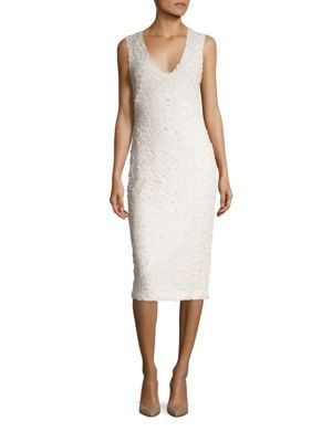 Luca Sequined Sheath Dress by Black Halo
