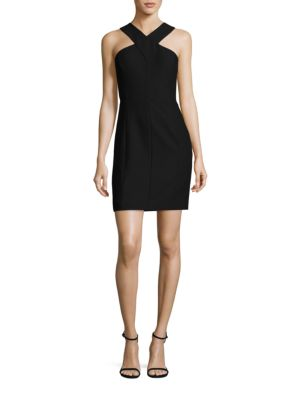 Elliot Cross-Front Strap Dress