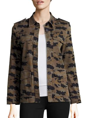 Cromwell Military Camouflage Jacket