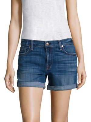 Relaxed Rolled Shorts by 7 For All Mankind
