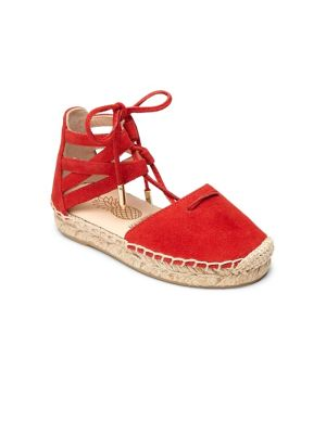 Baby's, Toddler's & Kid's Mini Belgravia Suede Lace-Up Espadrilles