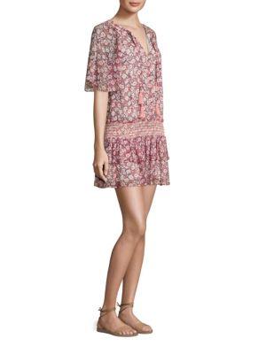 Pebble Drop-Waist Dress
