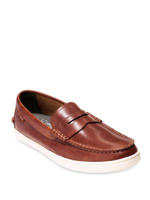 Pinch Weekender Leather Penny Loafers