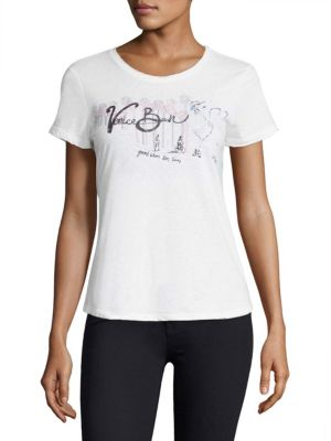 Bexley Graphic Print Tee by PAIGE