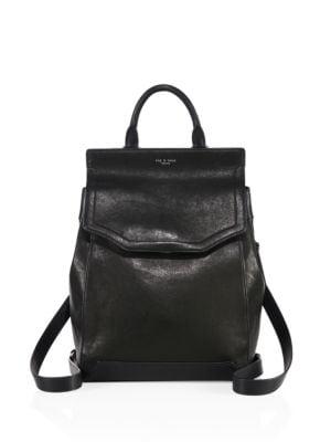 Pilot II Leather Backpack