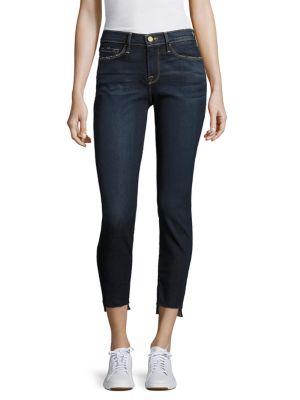 Le Skinny De Jeanne Step Hem Jeans