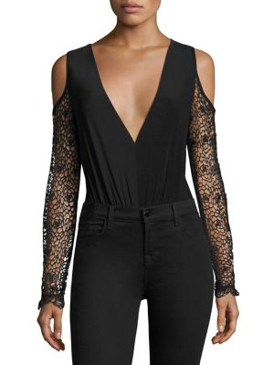 Lucia Cold-Shoulder Bodysuit