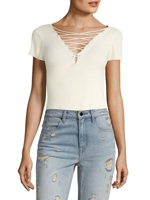 Cropped Top Pullover