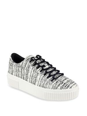 Reese Leather Platform Sneakers