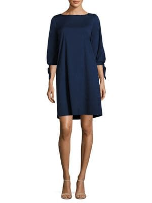Elaina Tie-Cuff Dress
