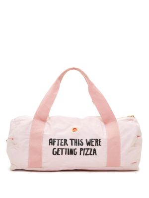 Pizza Work It Out Gym Bag
