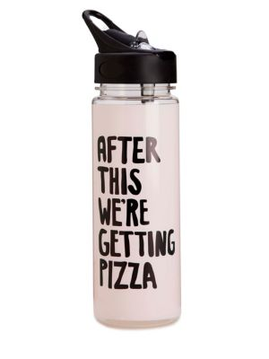 Pizza Work It Out Water Bottle